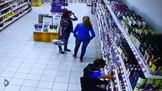 Смотреть онлайн Большая трагедия в супермаркете