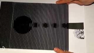 Смотреть онлайн Удивительна оптическая иллюзия движения