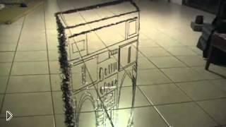 Смотреть онлайн Оптическая иллюзия: магнитофон из аудио пленки