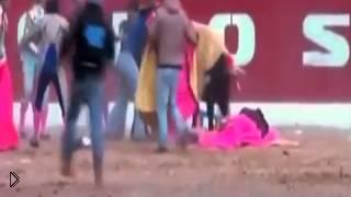 Смотреть онлайн Смерть тореадора на испанской корриде