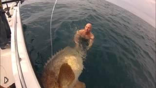 Смотреть онлайн Ловля большой морской рыбы на спиннинг
