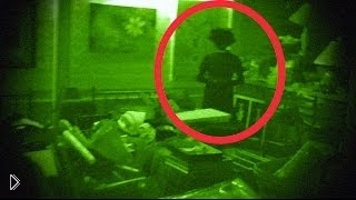 Смотреть онлайн Черный призрак проник в жилище мужчины