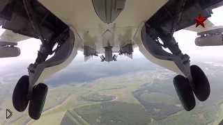 Смотреть онлайн Су-24: показательный взрыв самолета бомбой