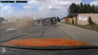 Смотреть онлайн Подборка аварий и ДТП за июнь 2014