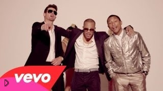 —мотреть онлайн Клип Robin Thicke ft. T.I., Pharrell - Blurred Lines