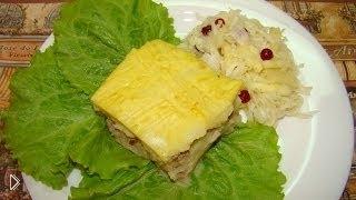 Смотреть онлайн Рецепт картофельной запеканки с фаршем