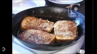 Рецепт сладких французских тостов на сковороде - Видео онлайн