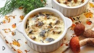 Смотреть онлайн Рецепт как приготовить жульен с грибами