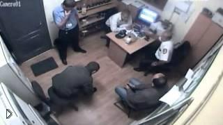 Смотреть онлайн Расстрел четверых охранников супермаркета
