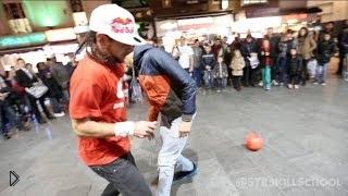 Смотреть онлайн Лучшие футбольные финты от Séan Garnier