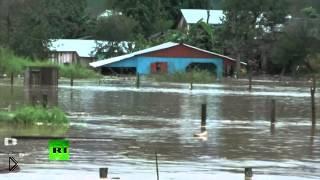 Смотреть онлайн Ярость стихии: наводнение в США 1 июля 2014
