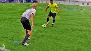 Смотреть онлайн Пять финтов от звезд ЧМ по футболу обучение