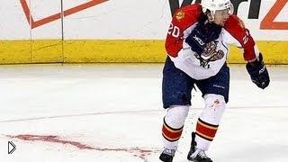 Смотреть онлайн Самые жесткие травмы в хоккее