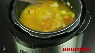 Смотреть онлайн Рецепт горохового супа в мультиварке