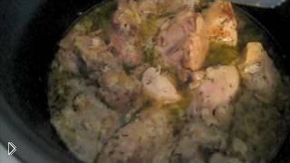 Курица со сметаной в мультиварке под картошку - Видео онлайн