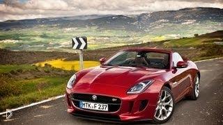 Смотреть онлайн Обзор спортивного Jaguar F-Type S 2014 года