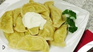 Смотреть онлайн Как приготовить вкусные вареники с картошкой