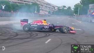 Новый болид от «Red Bull» для Формулы 1 - Видео онлайн