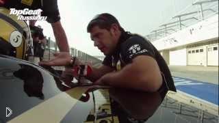Смотреть онлайн Тест болида для гонок Формулы-1 в России