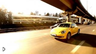 Смотреть онлайн Женский обзор Volkswagen Beetle 2014