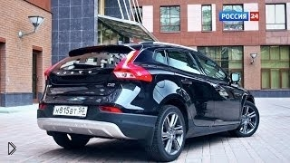 Смотреть онлайн Обзорный ролик Volvo V40 Cross Country