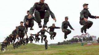 Смотреть онлайн Подборка армейских приколов в заграничных армиях