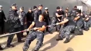 Смотреть онлайн Американские военные матросы против русских