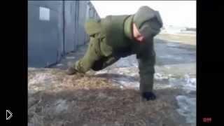 Смотреть онлайн Подборка угарных армейских приколов