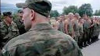 Смотреть онлайн Драка подполковника и невменяемого солдата