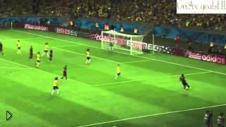 Смотреть онлайн ЧМ 2014 Бразилия - Германия счет 1:7. Все голы