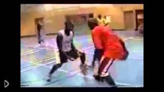 Смотреть онлайн Лучшие баскетбольные финты с мячом