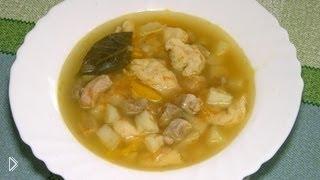 Смотреть онлайн Суп с клецками: пошаговый рецепт