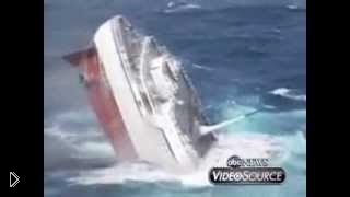 Смотреть онлайн Круизный лайнер потерпел крушение