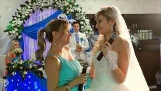 Смотреть онлайн Трогательная песня от невесты родителям на свадьбе