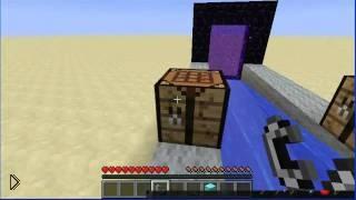 Смотреть онлайн Делаем алмазы в Майнкрафт при помощи генератора
