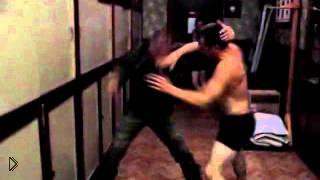 Смотреть онлайн Жесткая пьяная армейская драки