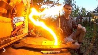 Высоковольтная дуга от микроволновки - Видео онлайн