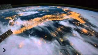 Смотреть онлайн Вид Земли из космоса