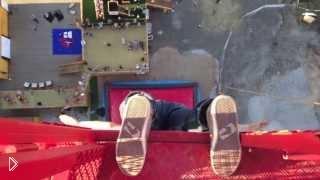 Смотреть онлайн Прыжок без страховки с 52 метров