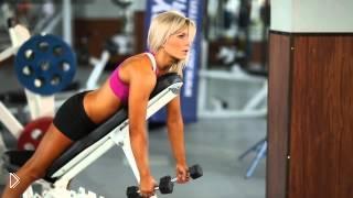 Смотреть онлайн Тренировка ромбовидной мышцы для девушек