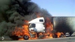 Смотреть онлайн Нарезка аварий с грузовиками за 2014 год