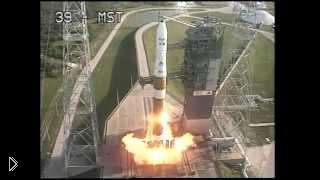 Смотреть онлайн Запуск космической ракеты в США