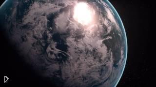 Смотреть онлайн Вид планеты Земля из космоса в HD