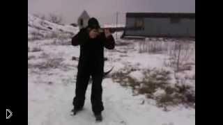 Смотреть онлайн Как нужно правильно целиться из охотничьего ружья