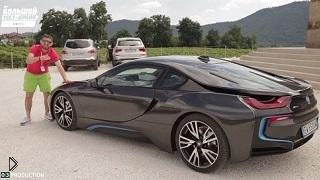 Обзор крутого BMW i8 2014 года - Видео онлайн