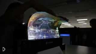 Смотреть онлайн Гибкий дисплей компании LG