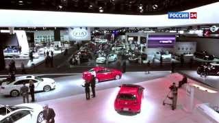 Смотреть онлайн Выставка автомобилей в Детройте 2014 год