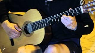 Смотреть онлайн Разбор игры на гитаре мелодии