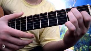 Смотреть онлайн Урок игры испанского боя и перебора на гитаре