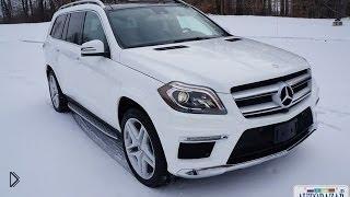 Обзор семиместного авто Mercedes-Benz GL550 2014 - Видео онлайн